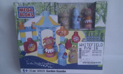 Adorable Mega Bloks In the Night Garden 'Garden Gazebo' Playset BNIB